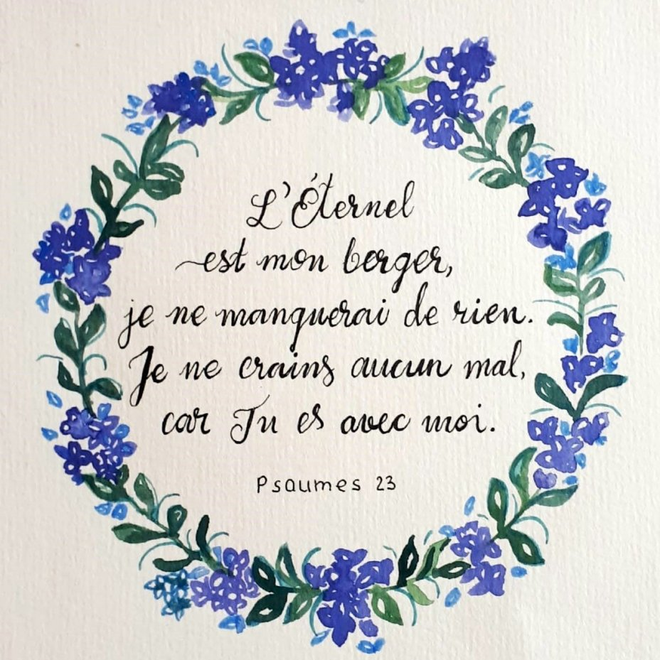 (FRE) Psalms 23