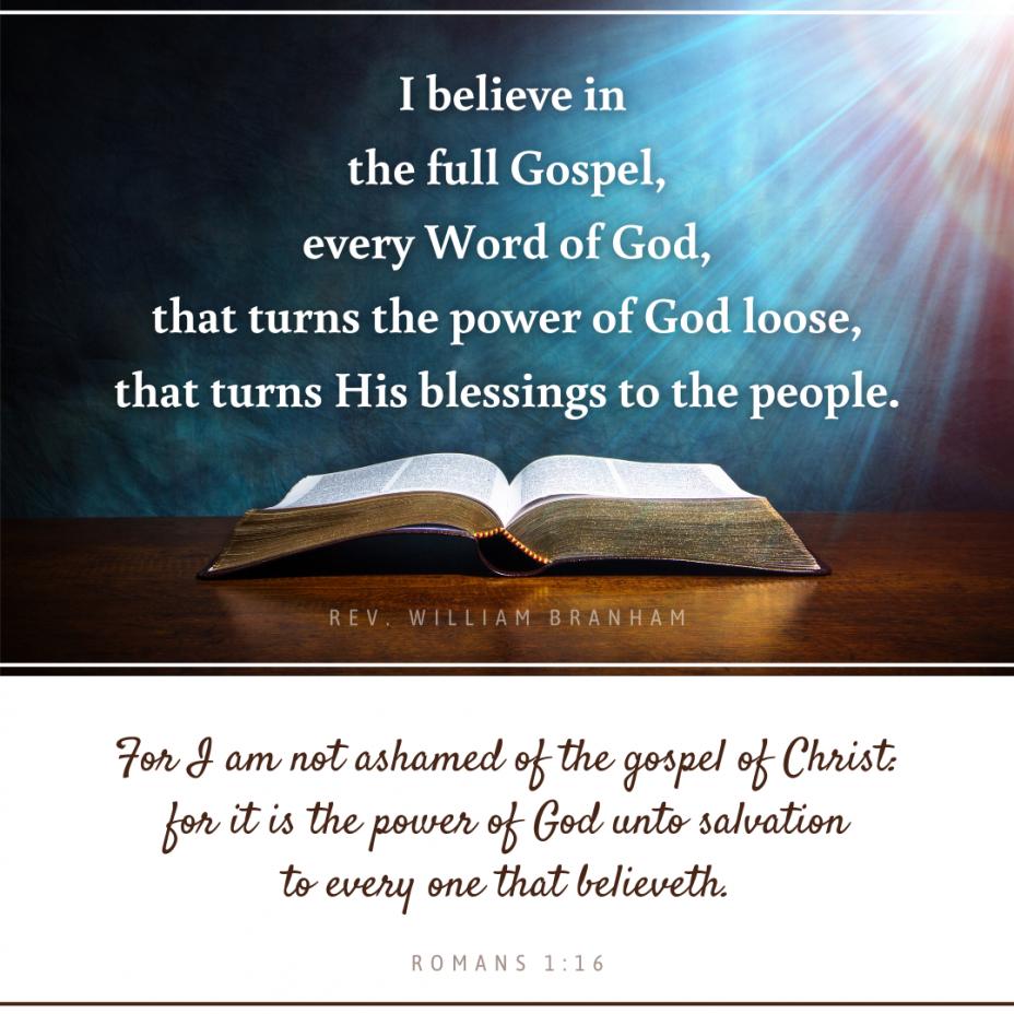 The Full Gospel
