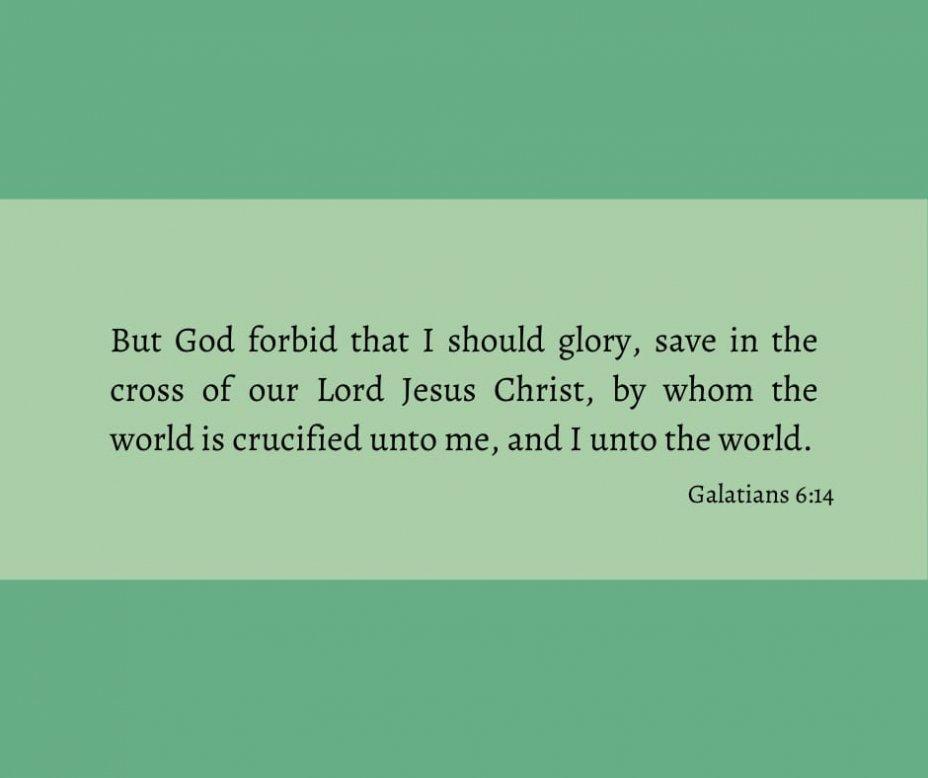 Galatians 6:14